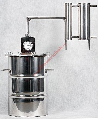 Купить универсальный самогонный аппарат Универсал 12 л (проточный)