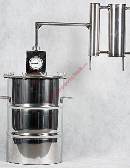 Купить универсальный самогонный аппарат Универсал 20 л (проточный)