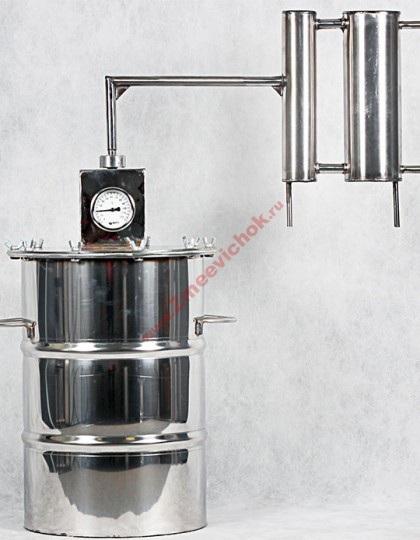 Купить универсальный самогонный аппарат Универсал 25 л (проточный)