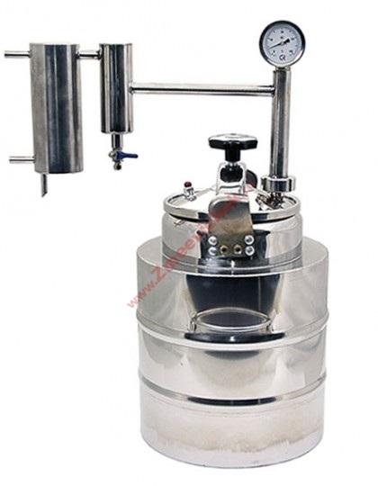Купить самогонный аппарат с проточным охлаждением Скороварка 20 л