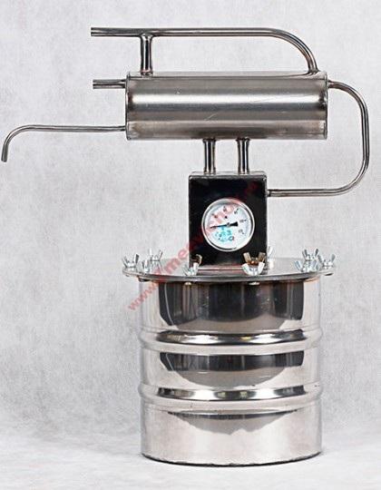 Купить маленький самогонный аппарат Гном 8 л (проточный)