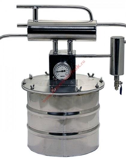 Купить небольшой самогонный аппарат Гном-2 8 л (проточный)
