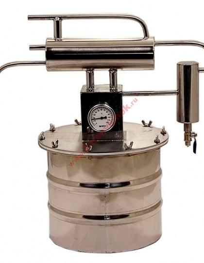 Купить небольшой самогонный аппарат Гном-2 12 л (проточный)