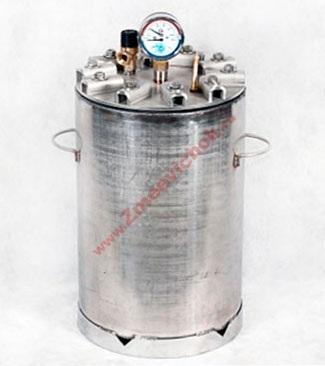 Купить автоклав-дистиллятор вместимостью 14 банок (0.7л).